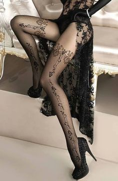 Stockings Boutique, supplying luxury stockings, hold ups, tights and lingerie to glamorous women. Silk and nylon stockings are our speciality. Belle Lingerie, Hot Lingerie, Black Lingerie, Lingerie Ladies, Lingerie Drawer, Corsets, Leather And Lace, Babydoll, Stocking Tights