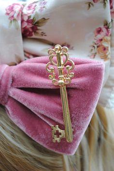 Keys as part of decor