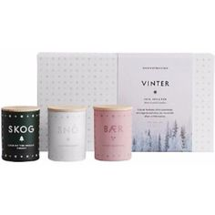 Scented Candle Christmas Mini Gift Pack ($51) ❤ liked on Polyvore featuring home, home decor, candles & candleholders, wick candles, white votive candles, white pot, white christmas candle and white candle holders