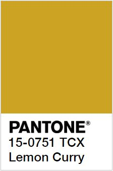 PANTONE 15-0751 Lemon Curry – Лимонное Карри