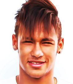 Neymar Júnior- Plays for Brazil - Top five football players of the world Neymar Jr, Top Five, Fifa World Cup, Football Players, Plays, Brazil, Crushes, Idol, Saints
