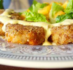 Crispy Curry Potato & Carrot Croquettes - Vegan, Vegetarian, and optionally Gluten-Free