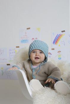 Kostenlose Anleitung: Babyjacke