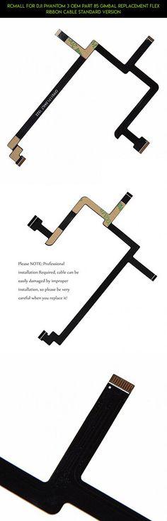 RCmall For DJI Phantom 3 OEM Part 85 Gimbal Replacement Flex Ribbon Cable Standard Version #gadgets #shopping #3 #dji #fpv #flex #tech #drone #plans #standard #phantom #products #technology #cable #kit #camera #parts #racing