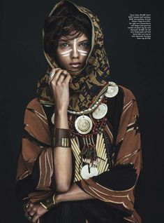 Vogue Australia April 2014 Model Marina Nery Photographer Sebastian Kim Stylist Katie Mossman Hair Bok-Hee | Make-up Mariel Barrera Via Visual Optimism