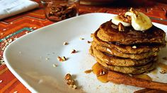 Absolutely Delicious and Healthy! Fluffy Gluten-Free Banana Pancakes, Perfect for a cozy, Autumn Morning!
