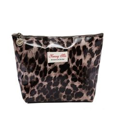 Women Toiletry Cosmetic Bag Leopard Pattern. catrescue 802238990325a