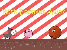 Poochie se pierde y sólo le puede ayudar!  Ayuda a tu amigo peludo a través de 3 mundos usando su súper ladrido tocando la pantalla con el fin de derrotar a sus enemigos y ayudar a encontrar el hogar. Haciendo su camino más allá de las manchas medios que tratan de bloquear su camino y utilizando elementos tales como las almohadillas saltar y burbujas para explorar, todo con el fin de encontrar su casa, recogiendo algunos huesos en el camino.  Nuestro sitio web: http://www.dojit.com/games/