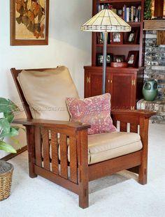 Morris Chair Plans - Furniture Plans