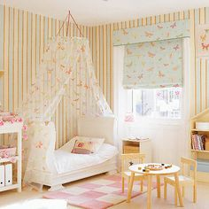toddler girl room with canopy bed Decorative Bedroom