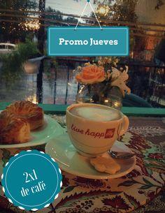 Promo Jueves 2x1 de café Promo Jueves 2x1 de café