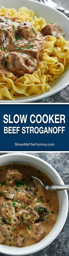 Nutritious Snack Tips For Equally Young Ones And Adults Love Beef Stroganoff? Youll Love My Slow Cooker Beef Stroganoff Its Made In The Crockpot, Has No Cream Of X Soup, and Uses My Blend Of Spices Crock Pot Recipes, Crockpot Dishes, Beef Dishes, Slow Cooker Recipes, Cooking Recipes, Steak In The Crockpot, Crockpot Beef Recipes, Crock Pots, Soup Recipes