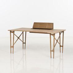 H. Brockmann-Petersen; Oak Desk, 1950s.