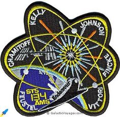 NASA Space Shuttle Endeavour Mission STS-134 Patch