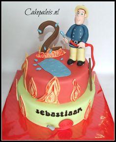 Brandweerman Sam taart Firefighter Sam cake