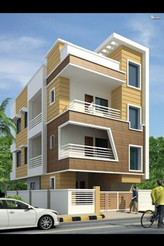 Amazing House Design Ideas For 2020 - Engineering Discoveries Single Floor House Design, House Front Design, Cool House Designs, Modern House Design, 3 Storey House Design, Bungalow House Design, Bungalow Exterior, Model House Plan, House Elevation