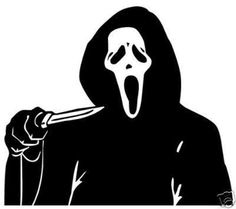 New Custom Screen Printed T-shirt Scream Movie Small - 4XL Free