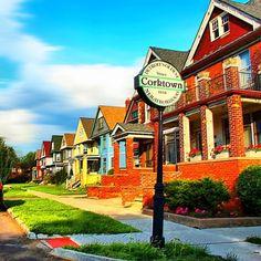 Corktown.  One of Detroit's oldest neighborhoods.