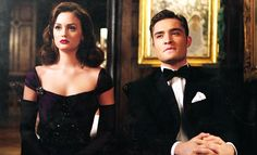 Classy couple (from Blaire's dream)