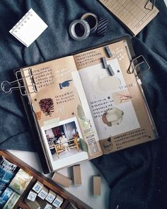"""703 Likes, 2 Comments - Evon (@lollalane) on Instagram: """"You put your arms around me and I'm home. #journalwithme #midori #midoritravelersnotebook…"""""""