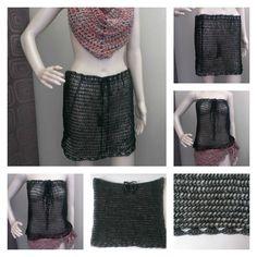 Swimsuit Cover Up Skirt Top - thesteadyhandblog.com
