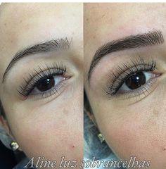 Permanent Makeup Eyebrows, Semi Permanent Makeup, Eye Brows, Eyebrows On Fleek, Perfect Eyebrows, Eyebrow Makeup, Hair Makeup, Hooded Eye Makeup, Hooded Eyes