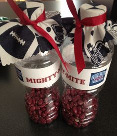 Need some noisemakers for our Mighty Mites football games! Football Spirit, Football Cheer, Cheer Camp, Youth Football, Football Baby, School Football, Baseball Mom, Football Season, Football Stuff