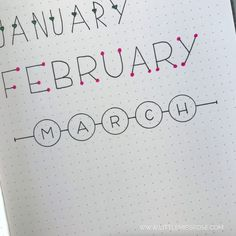11 Simple Hand-Lettered Fonts For Your Bullet Journal Bullet Journal Inspiration for Your Creative Simple Hand-Lettered Fonts For Your Bullet JournalDisclosure: some of the links below ar Bullet Journal Simple, Bullet Journal Writing, Bullet Journal Ideas Pages, Bullet Journal Spread, Bullet Journal Inspiration, Journal Pages, Bullet Journal Headings, Bullet Journal Ideas Handwriting, Bullet Journal Dividers