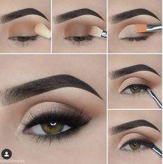 Makeup For Black Skin, Wedding Makeup For Brown Eyes, Dark Eye Makeup, Bright Makeup, Smoky Eye Makeup, Makeup Eye Looks, Eye Makeup Steps, Simple Eye Makeup, Colorful Makeup