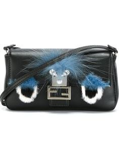 Shop designer Fendi bags and purses online now at Farfetch. Browse hundreds of boutiques for new season Fendi handbags, shoppers & totes Baguette, Crossbody Shoulder Bag, Crossbody Bag, Shoulder Bags, Shopper Tote, Satchel, Fendi Bags, Cross Body Handbags, Evening Bags