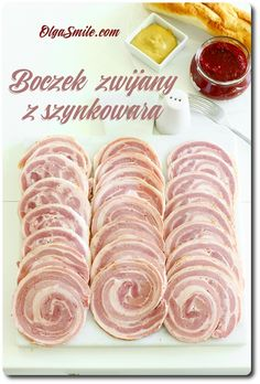 Bacon se valil s hamburgerem Redmond Home Made Sausage, Cold Cuts, Polish Recipes, Charcuterie, Bacon, Pork, Food And Drink, Homemade, Meals
