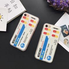 Moschino individuelle Pille weich Schutzcase für Iphone6/6plus/7/7plus