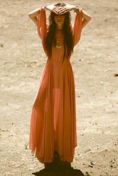 desert girl | wild and free | orange | mystic