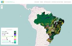 "MapBiomas, launched in collaboration with Google, aims to generate ""annual maps of land-use, land-use change and forestry in Brazil in the last 30 years and keep it up to date""."