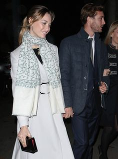 Pierre Casiraghi & Beatrice Borromeo attend the 'Love Design' event Andrea Casiraghi, Charlotte Casiraghi, Beatrice Casiraghi, Beatrice Borromeo, Elsa Peretti, Grace Kelly, Carolina Herrera, Karl Lagerfeld, Albert Von Monaco