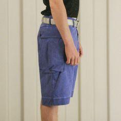Griffin USMC Short - Cobalt £165   #griffin #griffinstudio #menswear #sportswear #fashion #lovelife #lovesummer #loveland #podlife