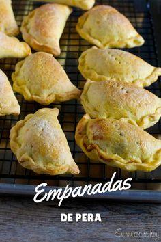 Empanadas de pera