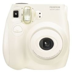 This ugly little specialty camera makes the cutest credit card sized instant prints like the old-fashioned polaroid instant film cameras.