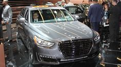 Photo: 2017 Hyundai Genesis G90 at the Detroit auto show Photo 4