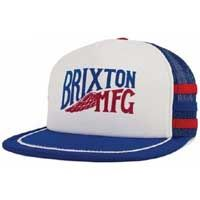 Lorry Snap Back Hat by Brixton- WHITE / ROYAL