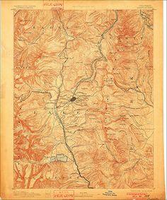 Topographic Map Colorado Pinterest - Colorado topo maps