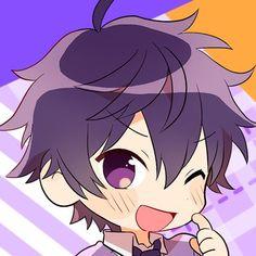 Chibi Boy, Cute Anime Chibi, Anime Kawaii, Anime Purple Hair, Anime Drawing Styles, Cute Coloring Pages, Anime Child, Ichimatsu, Disney Outfits
