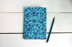 BRIKA.com   Ride On Bicycles Blue Notebook