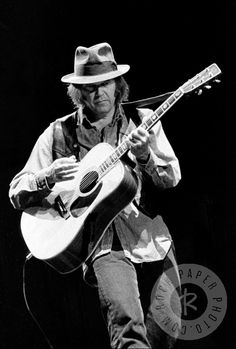 Neil Young by Daniel Kramer www.RockPaperPhoto.com