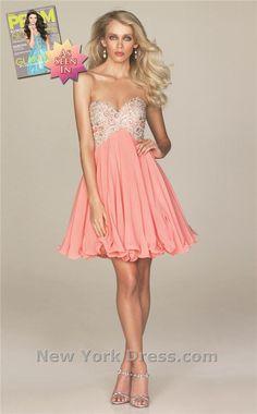 Allure A408 Dress - NewYorkDress.com