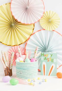 Alice and LoisDIY No-Sew Rope Easter Basket - Alice and Lois