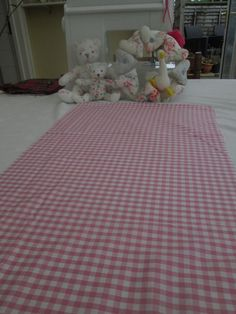 BN Very Pretty Pink Gingham Haberdashery Cotton Remnant