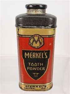 Merkel's Tooth Powder  1920