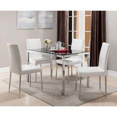 K & B Furniture Belmont 5 Piece Dining Set