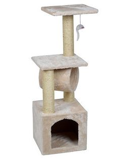 nice Deluxe Cat Tree 36 Condo Furniture Scratching Post Kitten Pet Play Toy House - For Sale Check more at http://shipperscentral.com/wp/product/deluxe-cat-tree-36-condo-furniture-scratching-post-kitten-pet-play-toy-house-for-sale/